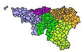Carte des provinces